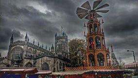 Domkyrka manchester Fotografering för Bildbyråer