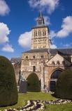 domkyrka medeltida maastricht Royaltyfria Bilder