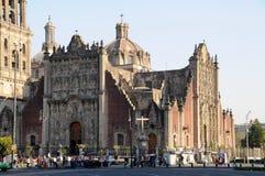 Domkyrka Mexico I Royaltyfria Foton