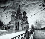 domkyrka moscow Royaltyfri Bild