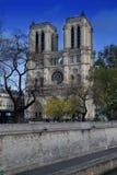 Domkyrka Notre Dame Paris Fotografering för Bildbyråer