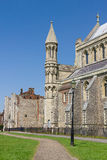 Domkyrka och Abbey Church av helgonet Alban i St Albans, UK Royaltyfri Bild