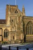 Domkyrka och Abbey Church av helgonet Alban, UK Royaltyfri Fotografi