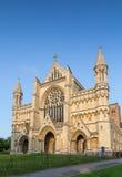 Domkyrka och Abbey Church Saint Alban StAlbans Arkivbild