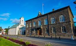 Domkyrka och parlament Royaltyfria Bilder