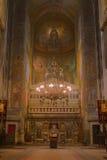 domkyrka ortodoxa cluj Arkivbild