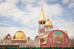 domkyrka ortodoxa kiev Royaltyfria Bilder