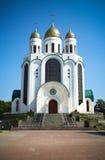 domkyrka ortodoxa kyrkliga kaliningrad Fotografering för Bildbyråer