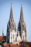 Domkyrka Regensburg Arkivbilder