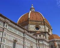 Domkyrka Santa Maria del Fiore, Duomo, i Florence, Tuscany, Italien Arkivbild
