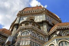 Domkyrka Santa Maria del Fiore, Duomo, i Florence, Tuscany, Italien Royaltyfri Bild