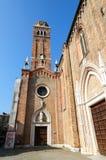 Domkyrka Santa Maria Gloriosa del Frari Royaltyfri Bild