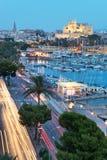 Domkyrka Santa Maria - Palma de Mallorca Arkivbilder