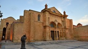 Domkyrka Santo Domingo Arkivbild
