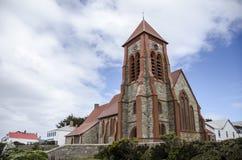 Domkyrka Stanley, Falklands Royaltyfria Foton