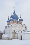domkyrka suzdal rozhdestvensky russia Royaltyfri Fotografi