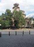 Domkyrka Sveta Nedelya östlig för ortodox kyrka i huvudstadSof Arkivfoton