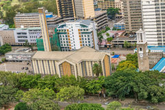 Domkyrkabasilika av den heliga familjen i Nairobi, Kenya Royaltyfria Foton