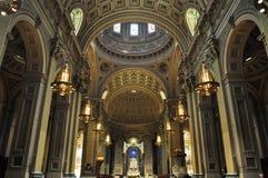 Domkyrkabasilika av helgon Peter och Paul, Philadelphia, Pennsylvania, USA royaltyfria bilder