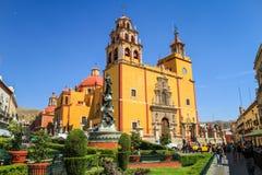 Domkyrkabasilika av vår dam av ljuset, Leà ³ n, Mexico Arkivfoto