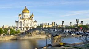 domkyrkachrist jesus moscow frälsare Fotografering för Bildbyråer