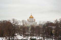 domkyrkachrist moscow frälsare Fotografering för Bildbyråer