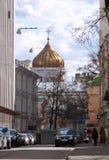 domkyrkachrist moscow russia frälsare Royaltyfri Foto