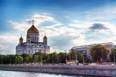 domkyrkachrist moscow russia frälsare staden för områdesbakgrundsmitten planlägger för moscow russia för springbrunnkiev metall s Arkivfoton
