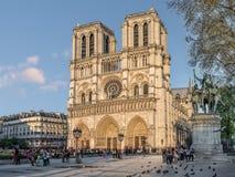 domkyrkadamenotre paris fotografering för bildbyråer