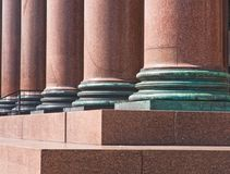 domkyrkadetaljisaac petersburg s st Arkivfoton