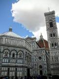 Domkyrkadien Santa Maria del Fiore är den huvudsakliga kyrkan av Florence, Italien Royaltyfri Bild