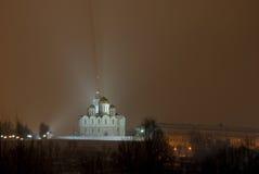 domkyrkadormitionrussia vladimir Royaltyfri Bild