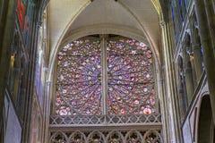 Domkyrkahelgon Gatien av Tours, Loire Valley, Frankrike Royaltyfri Fotografi