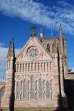 domkyrkahereford royaltyfri bild