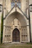 Domkyrkaingångskloster Pforta Royaltyfri Bild