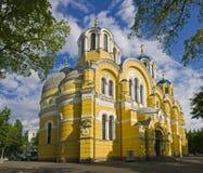 domkyrkakiev ukraine vladimir Arkivbilder