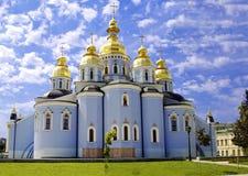 domkyrkakyivmichael st ukraine Royaltyfri Fotografi
