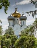 Domkyrkakyrkan av den Smolensk symbolen av modern av guden Arkivfoton