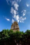Domkyrkakyrkan av St Mary i Murcia Arkivbilder