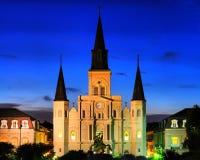 domkyrkalouis New Orleans st Arkivfoton