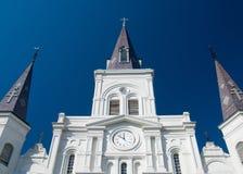 domkyrkalouis New Orleans st Fotografering för Bildbyråer
