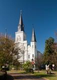 domkyrkalouis New Orleans st Arkivbild