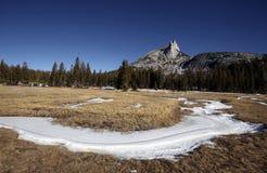 Domkyrkamaximum, Yosemite nationalpark Arkivfoton