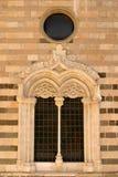 domkyrkamessina utsmyckat fönster arkivbilder