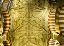 Domkyrkamoské, Mezquita de Cordoba Andalusia Spanien Arkivfoton