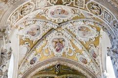 Domkyrkan av Cefalu Arkivfoto