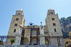 Domkyrkan av Cefalu Royaltyfri Fotografi