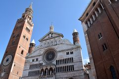 Domkyrkan av Cremona - Cremona - Italien - 022 Royaltyfri Foto