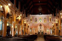 Domkyrkan av den obefläckade befruktningen, Chanthaburi, Thailand Royaltyfri Bild