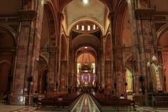 Domkyrkan av den obefläckade befruktningen, Cuenca, Ecuador, Royaltyfria Foton